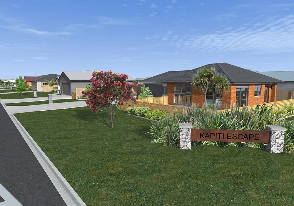 house plans Kapiti Escape Kapiti Escape Development 1