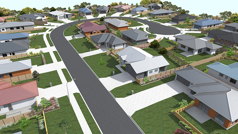 architectural plans for housing development at Kapiti  Portfolio Kapiti housing development