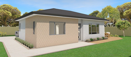 housing developments, architectural plans, house plans, developer plans, housing development plans, nz house plans Small Housing Plans Kakapo 6